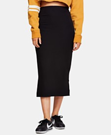 Free People Highlands Tube Midi Skirt