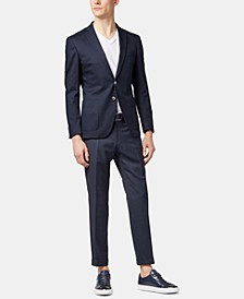 BOSS Men's Wilko Extra-Slim-Fit Wool Trousers