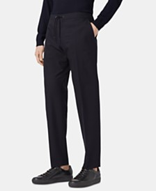 BOSS Men's Banks Cropped Slim-Fit Trousers
