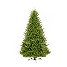 International 7 ft. Unlit Franklin Fir Artificial Unlit Christmas Tree
