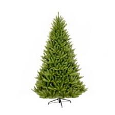 Puleo International 7 ft. Unlit Franklin Fir Artificial Unlit Christmas Tree