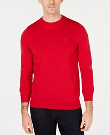 Barbour Men's Cotton Crew Neck Sweater