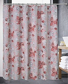 Color Shell Shower Curtain