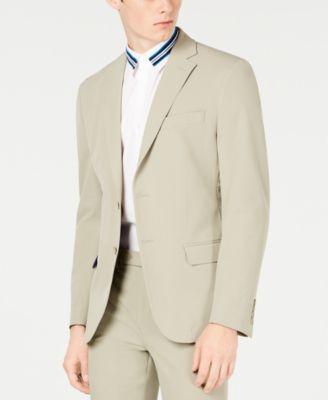 Men's Slim-Fit Stretch Washable Suit Jacket