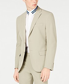 Men's Slim-Fit Stretch Washable Suit Jacket