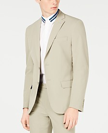 Calvin Klein Men's Slim-Fit Stretch Washable Suit Jacket