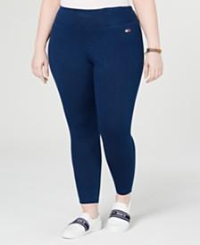 1eb788e6df4b Tommy Hilfiger Plus Size High-Rise Pull-On Jean Leggings