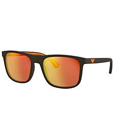 Sunglasses, EA4129 56