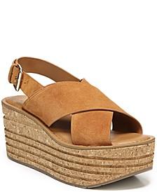 Caroline Wedge Sandals