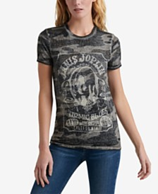 Lucky Brand Janis Joplin Graphic T-Shirt