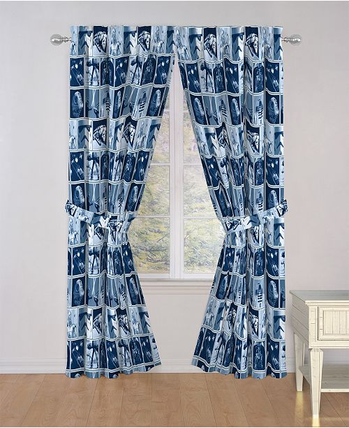 """Star Wars Classic Space Battle 84"""" Drapes"""