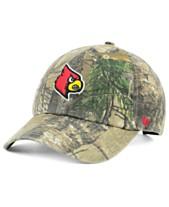 the best attitude 3c52e b2b54  47 Brand Louisville Cardinals Real Tree CLEAN UP Cap
