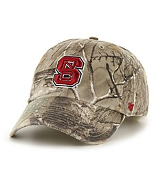 North Carolina State Wolfpack Real Tree CLEAN UP Cap