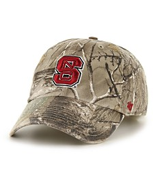 '47 Brand North Carolina State Wolfpack Real Tree CLEAN UP Cap