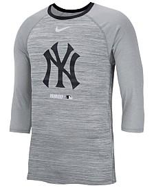Nike Men's New York Yankees Velocity Raglan T-Shirt