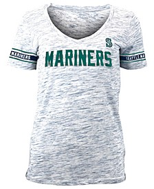 Women's Seattle Mariners Space Dye T-Shirt