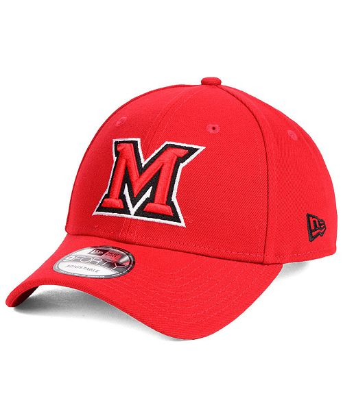 New Era Miami (Ohio) Redhawks League 9FORTY Adjustable Cap