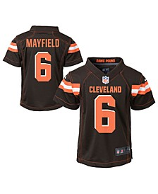 Little Boys Baker Mayfield Cleveland Browns Game Jersey
