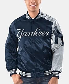 Starter Men's New York Yankees Dugout Starter Satin Jacket