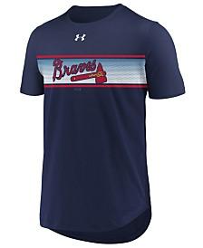 Under Armour Men's Atlanta Braves Seam to Seam T-Shirt