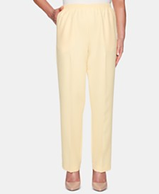 Alfred Dunner Petite Classic Pull-On Pants