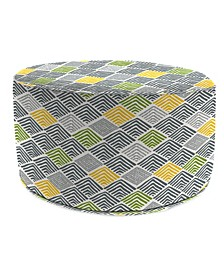 Round  High Outdoor Pouf - 1 Pack