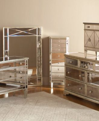 Perfect Redesign Your Home With This Royal, Refined Collection, Which Features  Inset Mirror Faces, Silver Accented Hardware And Leaf Framing That Give  Your Space A ...