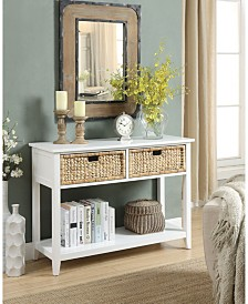 Flavius Console Table (2 Drawers)