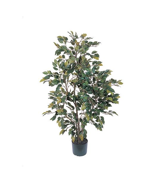 Nearly Natural 4' Ficus Faux Silk Tree