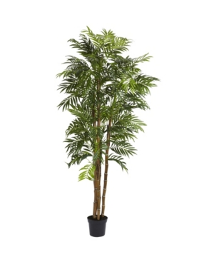 Nearly Natural 6' Bella Palm Faux Silk Tree