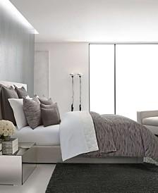 Vera Wang Burnished Quartz Dark Grey Comforter Set, Queen