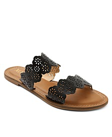 Ramsey Double Band Slide Sandals