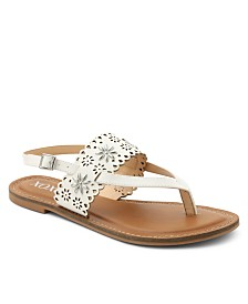 XOXO Ronia Thong Sling Back Sandals