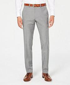Men's Slim-Fit Stretch Premium Textured Weave Dress Pants