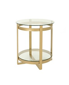 Solidago Tempered Glass Coffee Table, Quick Ship