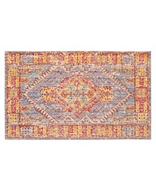 "Marley Colorwashed Kilim 24"" x 36"" Accent Rug"