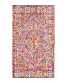 "Caruso Colorwashed Kilim 27"" x 46"" Accent Rug"