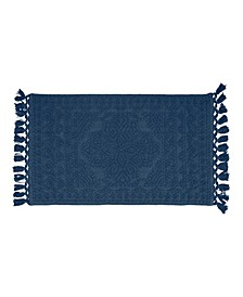 Nellore Fringe Cotton Bath Rug Collection