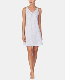 Lauren Ralph Lauren Knit Cotton Nightgown