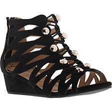 Little & Big Girls Kelley Khloey Wedge Sandal