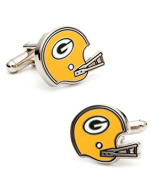 Cufflinks Inc. Retro Bay Packers Helmet Cufflinks