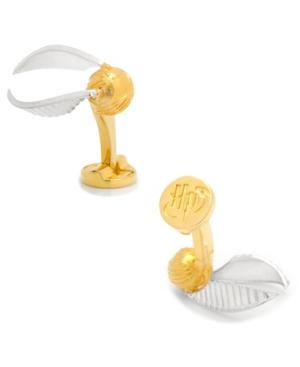 3D Golden Snitch Cufflinks