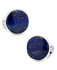Sterling Classic Formal Lapis Cufflinks