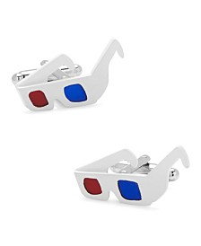 3D Glasses Cufflinks