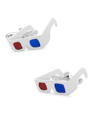 3D Glasses Cufflinks