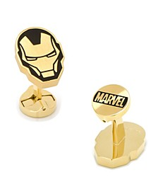 Stainless Steel and Iron Man Cufflinks