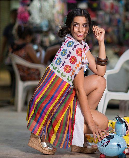 Maillots Tunique de AricheAvis Blanc Bain manches Beachwear Femmes Palmera sans 0PXOknNw8