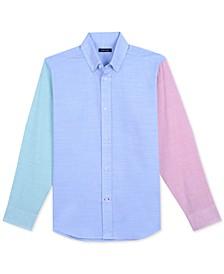 Big Boys Coastal Colorblocked Shirt