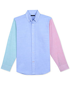 Tommy Hilfiger Big Boys Coastal Colorblocked Shirt