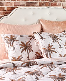Home Palm Tree King Sham